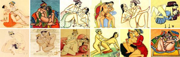 Камасутра - картинки из первых изданий книги