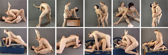 Позы секс и видео