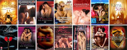 Все фильмы и обучающие пособия по сексуальным позициям камасутры