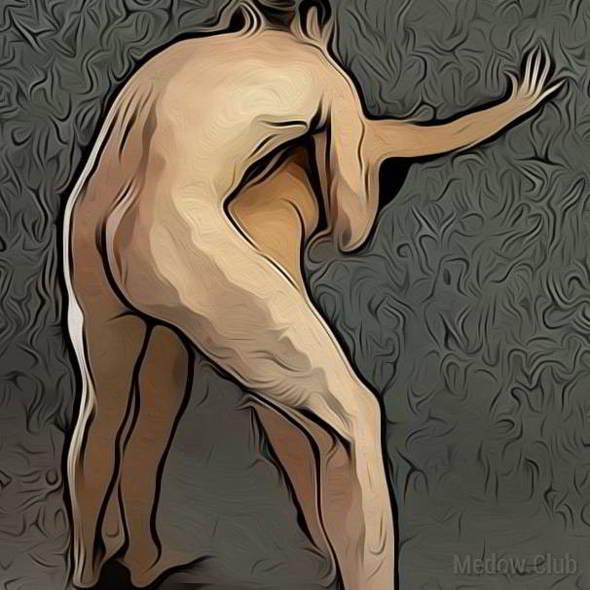 Поза для занятия сексом №17 - Догги стайл стоя. Фото