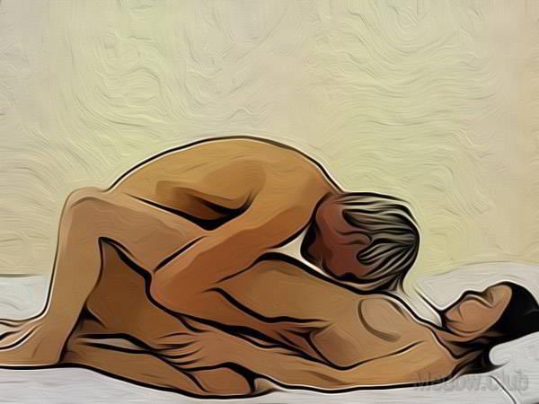 Сексуальная позиции камасутры №27 - Кунилингус. Фото
