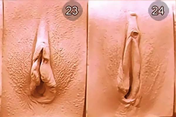 Виды влагалищь женщин. Вид 23-24