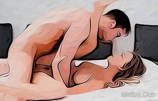 Позы для секса ноги на плечи