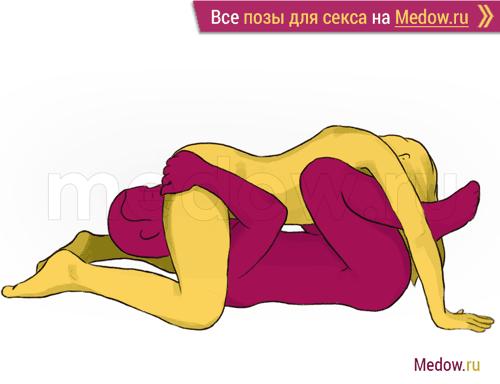 Поза для секса #10 - Оригами (оральный секс в позе 69). Камасутра Фото, картинки