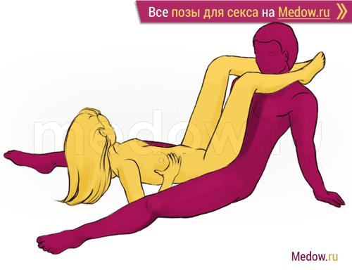 Поза для секса #205 - Пазл (сидя, прямой угол). Камасутра Фото, картинки