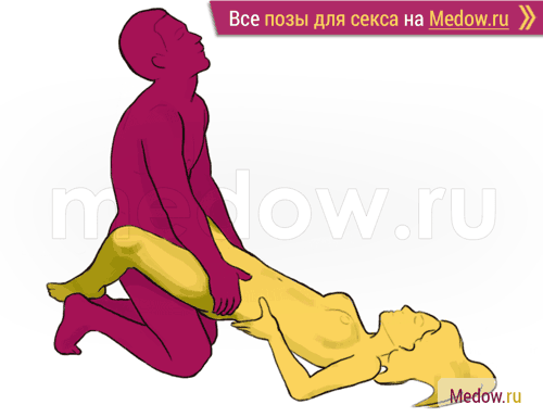 Поза для секса #5 - Водолей (на коленях). Камасутра Фото, картинки