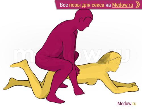 Поза для секса #190 - Орел (догги стайл, мужчина сзади, мужчина сверху,). Камасутра Фото, картинки