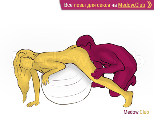 Поза для секса #395 - Грязный санчез (оральный секс, женщина на животе, орал, кунилингус, куни, мужчина сзади). Камасутра Фото, Картинки