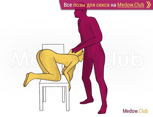 Поза для секса #501 - Любопытство (оральный секс, орал, минет, стоя). Камасутра Фото, Картинки