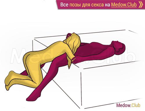 Поза для секса #486 - Источник (оральный секс, орал, минет, на коленях). Камасутра Фото, Картинки