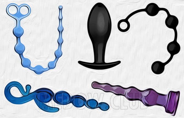 Анальные секс игрушкиЖ пробки, втулки, плаги, елочки, шарики, цепочки